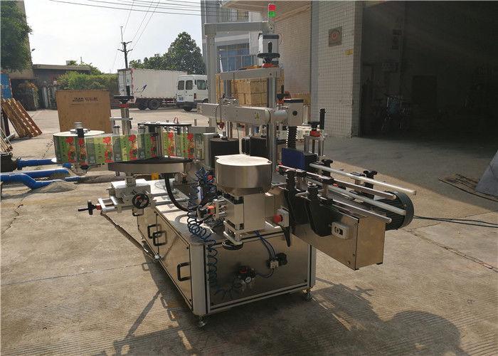 Fornitore di apparecchiature per etichettatura anteriore e posteriore dell'etichettatrice per bottiglie piatte CE della Cina
