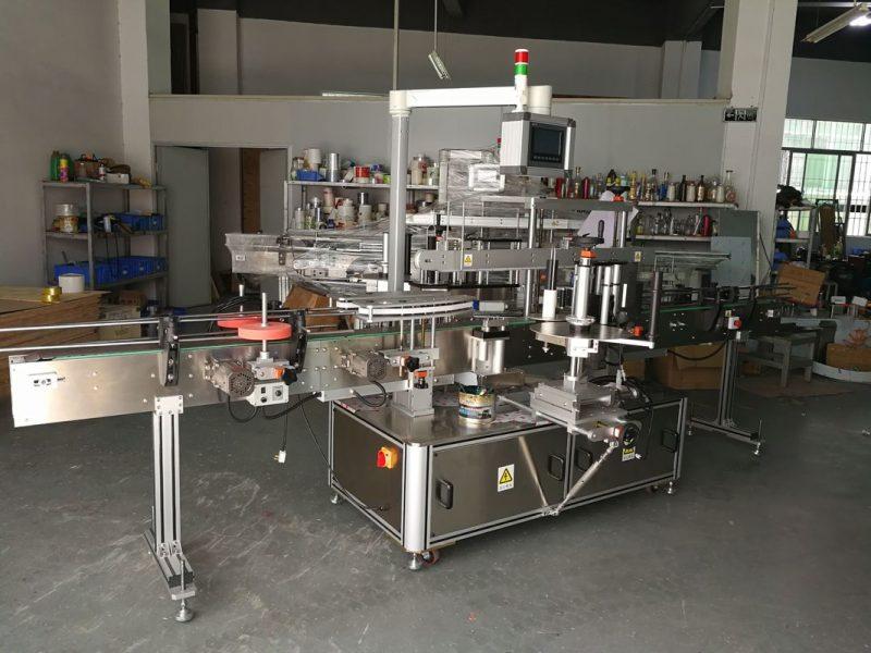 Fornitore elettrico guidato dell'etichettatrice della bottiglia piana multifunzionale di alta precisione della Cina