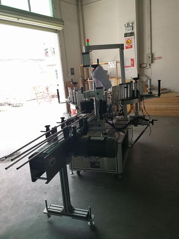 Cina Etichettatrice anteriore e posteriore dell'autoadesivo su fornitore di bottiglie ovali / rettangolari / quadrate / rotonde