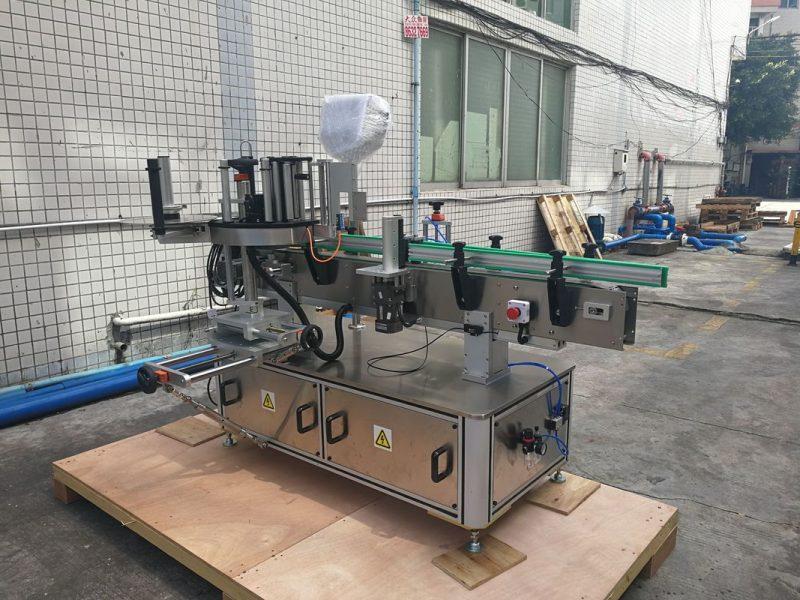 Fornitore di controllo PLC dell'etichettatrice automatica autoadesiva della bottiglia rotonda della Cina
