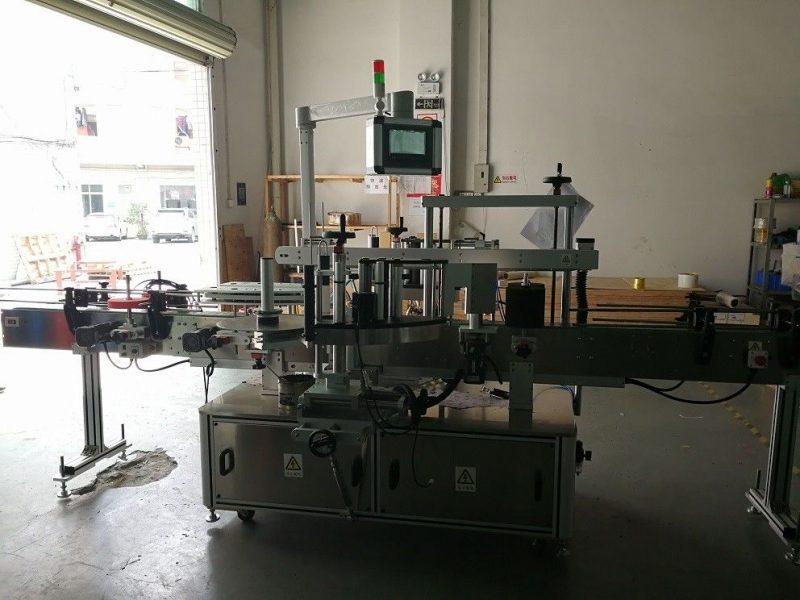 Fornitore della Cina ad alta precisione 50HZ dell'etichettatrice per bottiglie quadrate a due lati