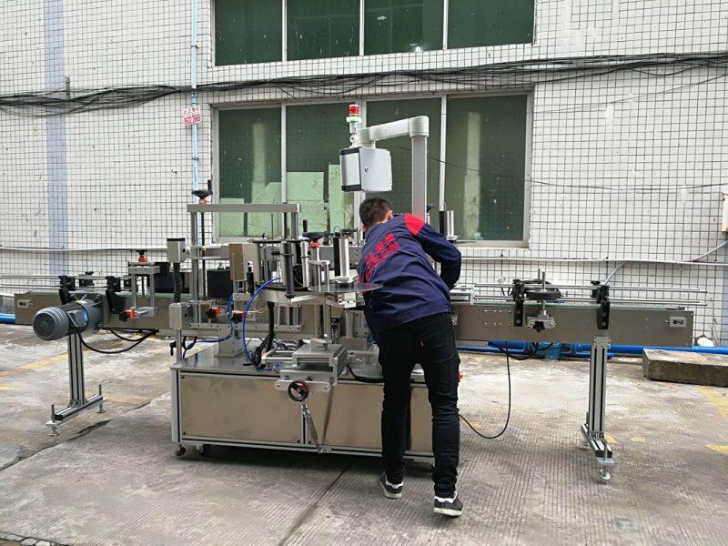 Cina Etichettatrice automatica completa per bottiglie d'acqua per fornitore di bottiglie in vetro / PET