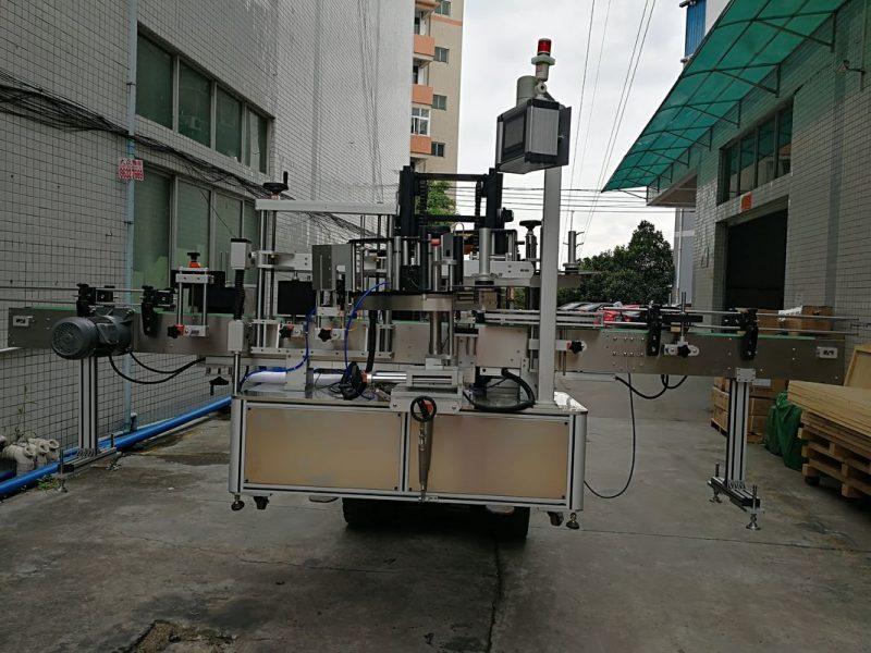 Cina Applicatore di etichette per etichettatrice automatica con doppio adesivo laterale per fornitore di barattoli di plastica