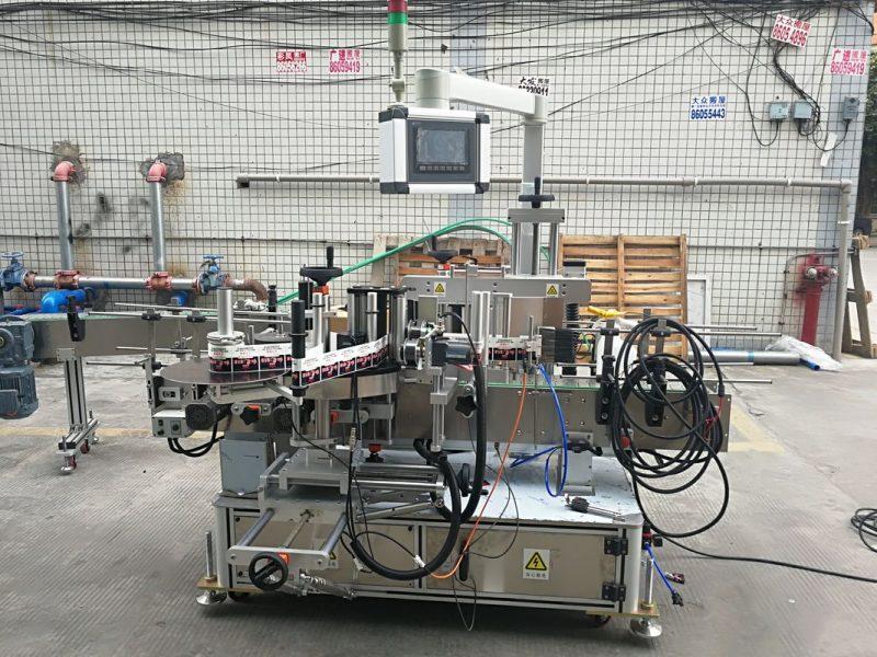 Cina Macchina per etichettatrice per bottiglie piatte su due lati con adesivo automatico ad alta precisione Fornitore lungo 2 m