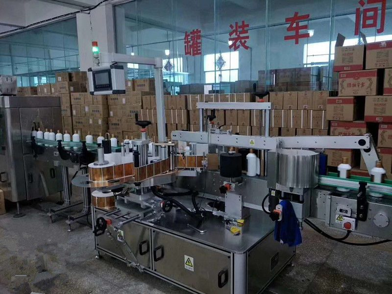 Cina Etichettatrice automatica per bottiglie di vetro anteriore / posteriore ad alta velocità 5000 - 8000B / H fornitore