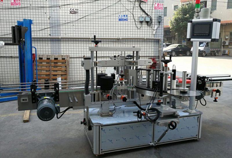 Cina etichettatrice automatica completa dell'autoadesivo, macchina per applicatore di etichette autoadesive per fornitore di bottiglie