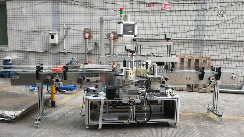 Cina Macchina per etichettatura automatica per bottiglie quadrate adesive Double Side fornitore