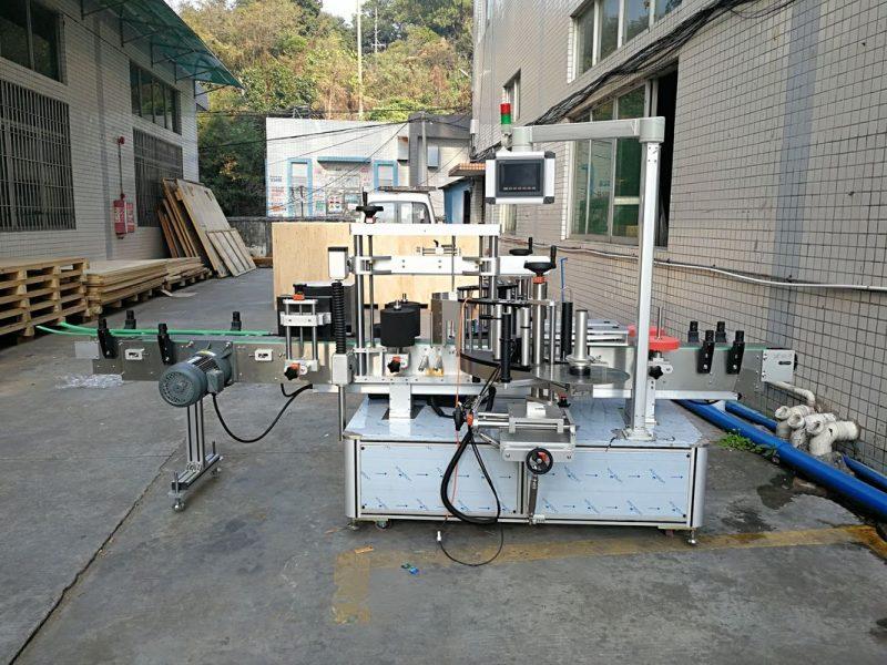 Fornitore anteriore e posteriore integrato dell'etichettatrice automatica della bottiglia piatta dell'autoadesivo della Cina