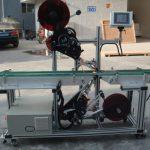 Etichettatrice superiore ad alta efficienza con nastro trasportatore diviso