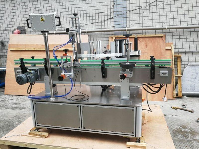 Fornitore anteriore e posteriore dell'etichettatrice automatica standard della bottiglia rotonda della Cina