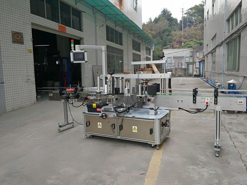 Fornitore elettrico dell'etichettatrice della bottiglia quadrata automatica dei tre lati della Cina