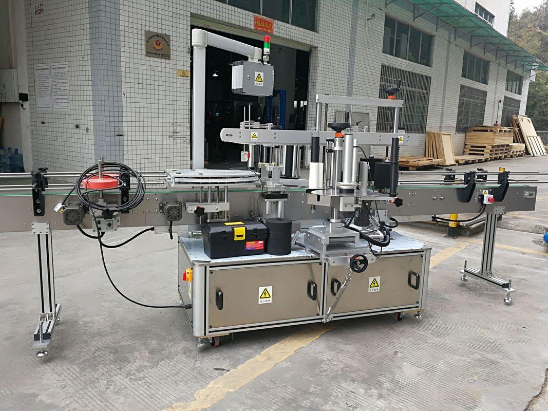 Etichettatrice automatica completa dell'autoadesivo della sigillatura dell'angolo del cartone 220V 50HZ 1200W