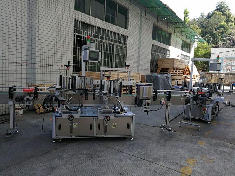 Fornitore della Cina dell'etichettatrice dell'autoadesivo della bottiglia piatta / quadrata completamente automatica 5000-8000B / H di capacità