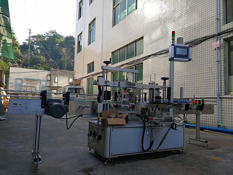 Fornitore di alta precisione per etichettatrice per bottiglie piatte adesive su un lato della Cina